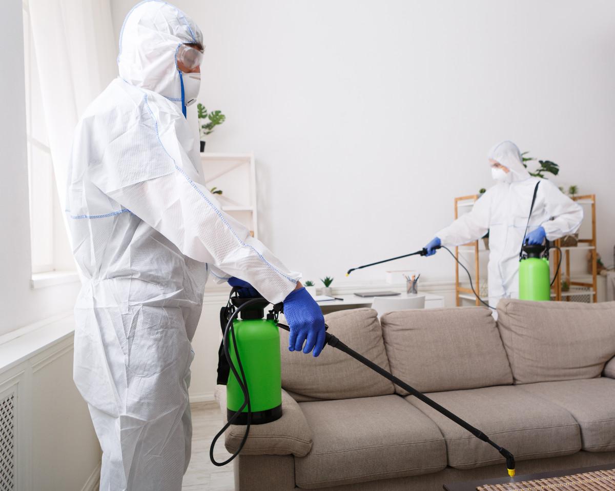 Disinfezione batteri, virus, funghi negli ambienti interni